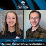 Engineering Students Receive Prestigious Scholarships from Autocam Medical
